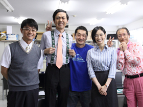 歌星緑郎・役、風間トオルさん。  歌星博士と我望理事長、そして江本教授3人の研究物語も、是非もっと見てみたかった気もします。カッコ良いお父さんを、ありがとうご